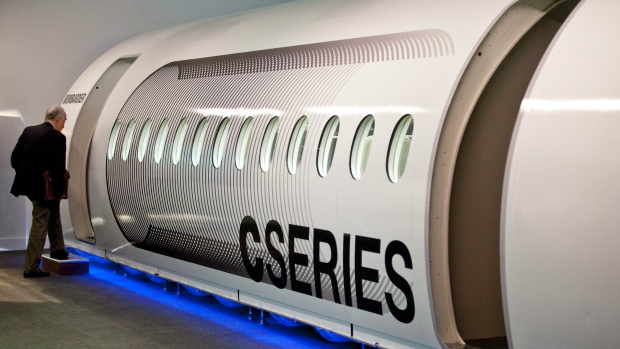 First flight of Bombardier's new CSeries jet delayed by 1 month