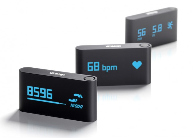 Withings Pulse Tracks Every Step You Take, Measures Heart Rate with a Finger …