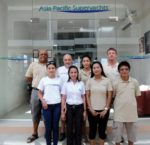 AP Superyachts berths new office in Patong