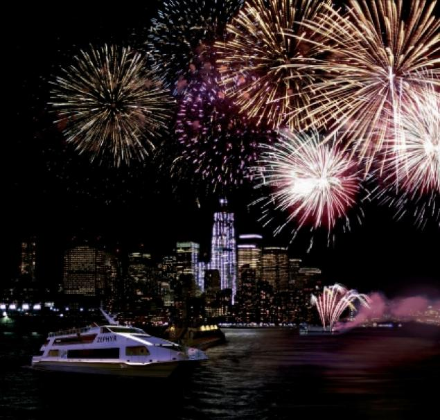 For the best view of the Fourth of July fireworks, set sail on these cruises