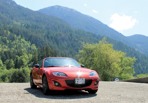 The Good Life: A red Miata? Wouldn't it be luvverly