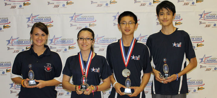 Four bowlers claim Junior Gold titles