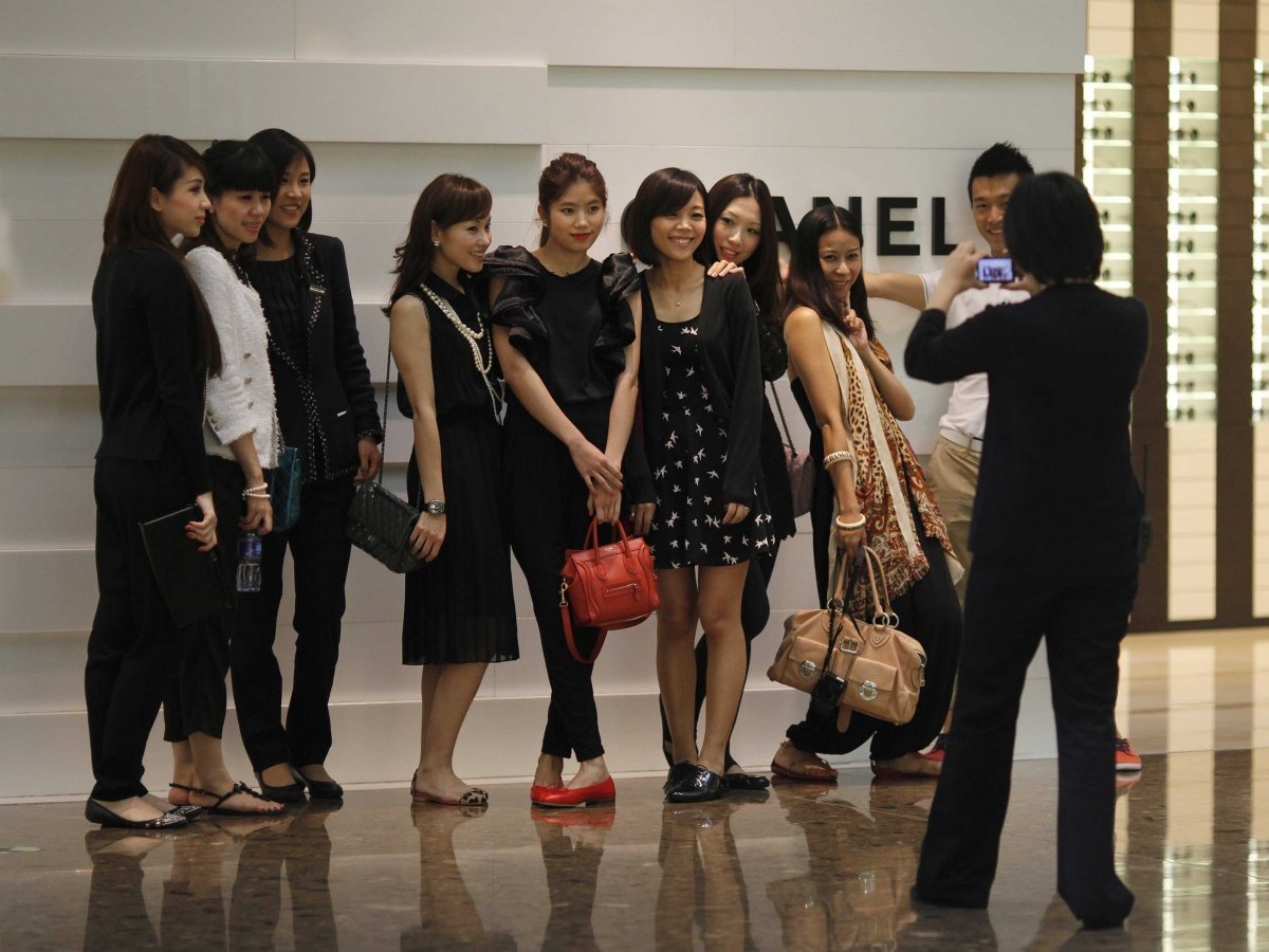 A Close Look At China's Growing Appetite For Luxury Brands