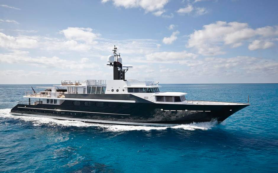 Highlander: the Forbes superyacht is ready for charter