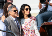 George Clooney issues burner phones to stop guests from leaking wedding photos