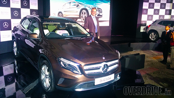 2014 Mercedes-Benz GLA launched in India at Rs 32.75 lakh