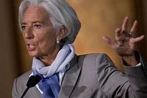 Lagarde urges action to boost 'mediocre' global growth