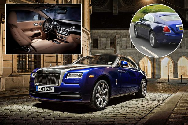 Rolls-Royce Wraith Two-door coupe review by Richard Hammond: Wraith's a …