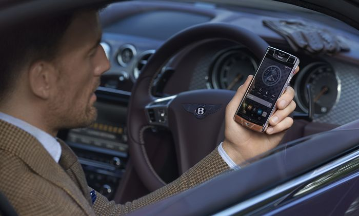 Vertu for Bentley Smartphone Can Be Yours For €12500