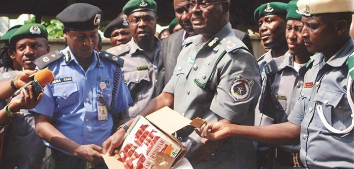 Customs uncovers N9m cannabis in luxury bus