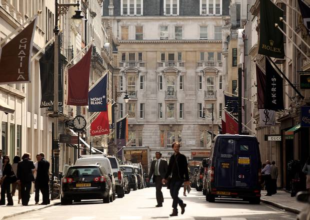 Bond Street in £20 million makeover as London seeks to compete with Paris and …