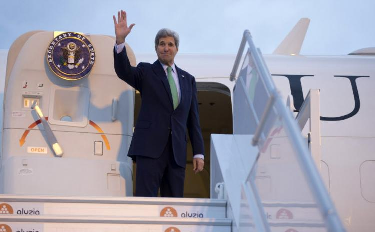 John Kerry's plane breaks down for fourth time this year