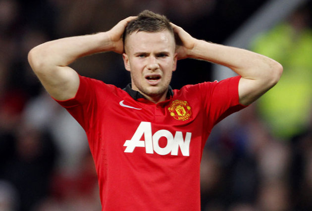Does this picture spell the end for Tom Cleverley at Manchester United?