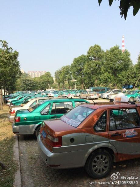 Between the Competition and the Capitalists: Guangzhou's Taxi Driver Strike