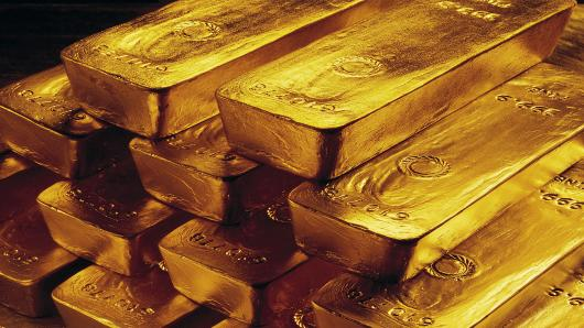 PRECIOUS-Gold steadies above $1240 as Asian equities slide