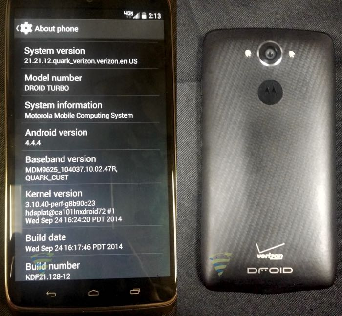 Motorola Droid Turbo Poses For The Camera