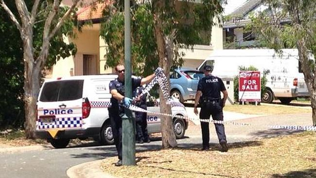 Police have cordoned off the Mulgrave Crescent home and locked down the …