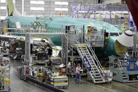 Commercial jet demand lifts Boeing results