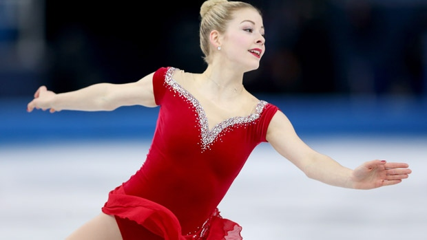 Gracie Gold ready for Skate America in Hoffman Estates