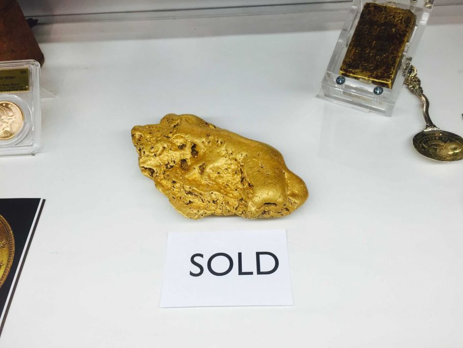 Giant gold 'Butte Nugget' sells to secret Bay Area buyer