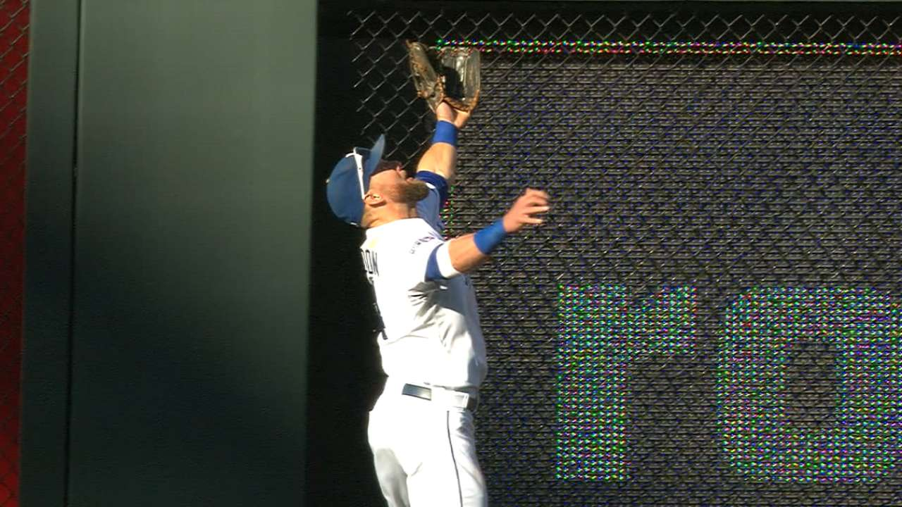 Four Royals nominated for Gold Glove Awards