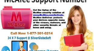 Contact 1-877-301-0214 for activation process of McAfee customer
