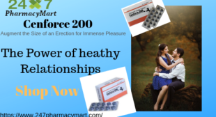 Cenforce – The best answer for the issue of erectile dysfunction | 247PharmacyMart