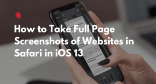 How to Take Full Page Screenshot in Safari on iPhone & iPad – Express Directory
