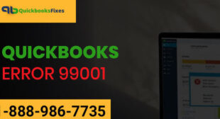 How To Resolve QuickBooks Error 99001?