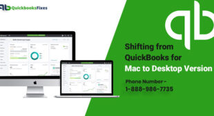 Shifting from QuickBooks for Mac to Desktop Version
