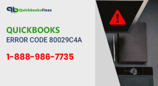 How to fix QuickBooks Error Code 80029c4a?