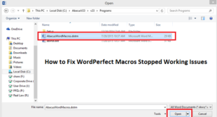 How to Fix WordPerfect Macros Stopped Working Issues – norton.com/setup