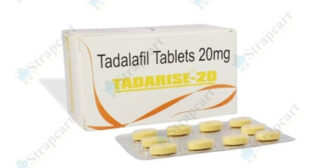 Tadarise Tablet: Reviews, Side effects, Price | Strapcart