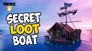 Where to Find the Secret Loot Boat in Fortnite?